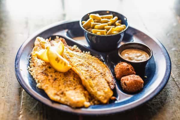 Grilled or Blackened Catfish