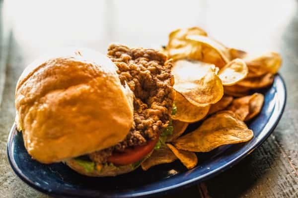 Chicken Fried Steak Sandwich