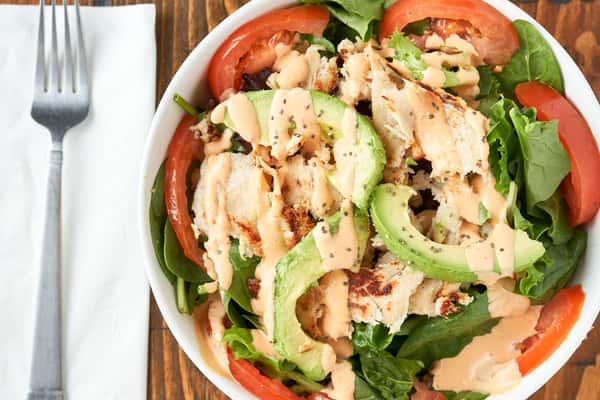 Grilled Chicken or Steak Salad