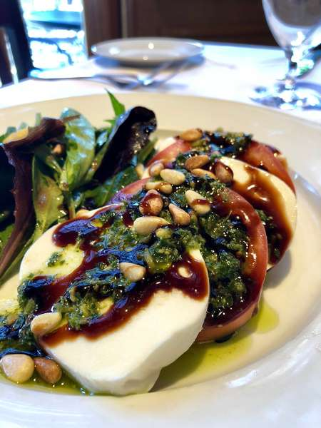 Salade de Tomate & Mozzarelle