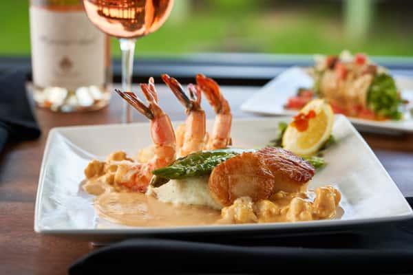 Scallop & Shrimp Oscar