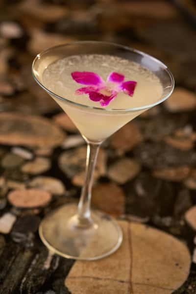Hawaiian River Orchid Martini