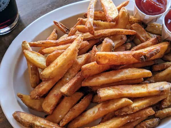Beer-Battered Fries