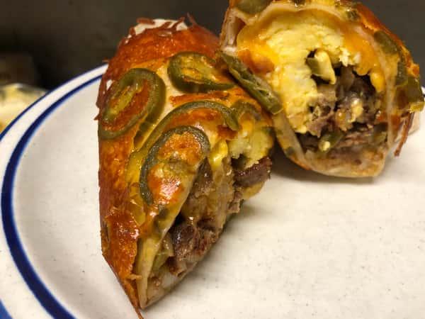 Breakfast Steak Burrito