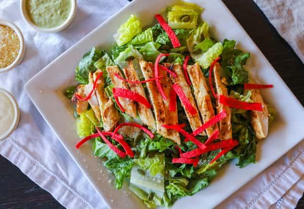 Lunch Chicken Ceasar Salad