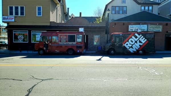 two food trucks