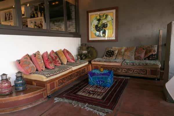 Traditional Patio setting