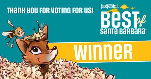 2021 Best of Santa Barbara Winner