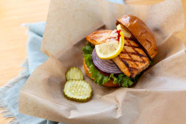 Fish Sandwich-Catch of the Day