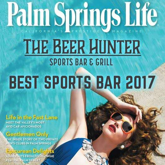 palm springs life the beer hunter best sports bar 2017