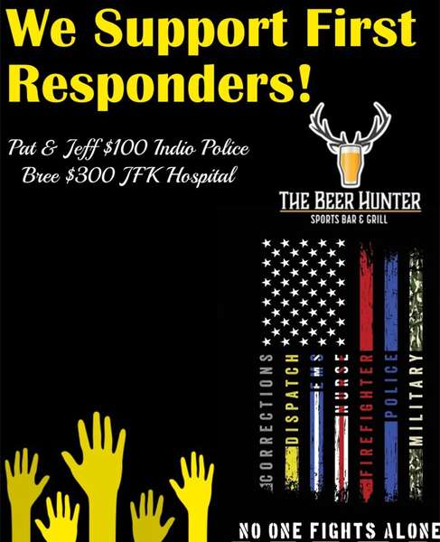 We Support First REsponders