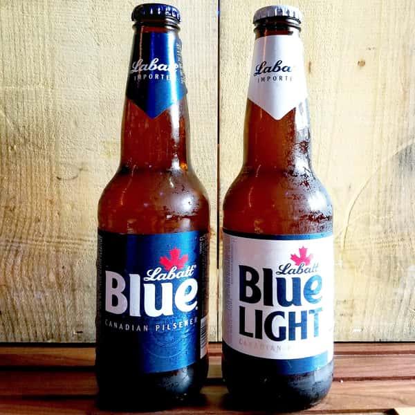 Labatt Blue Bottle