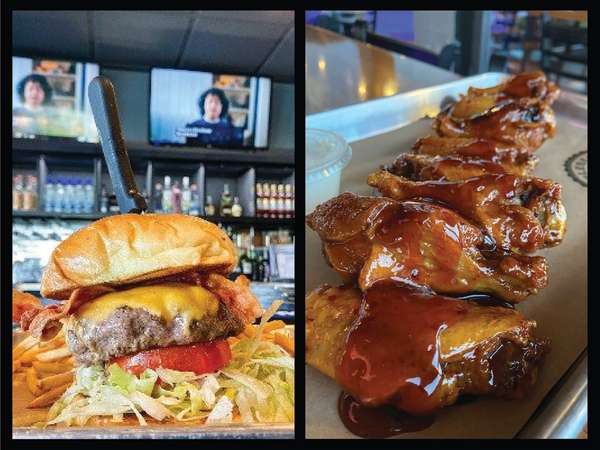Legendary Burger and BBQ Wings