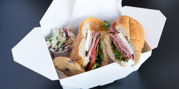 Classic Italian Sandwich Boxed Lunch\