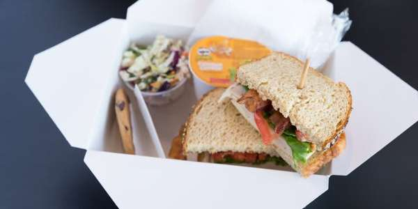 Turkey, Bacon & Swiss Sandwich Boxed Lunch