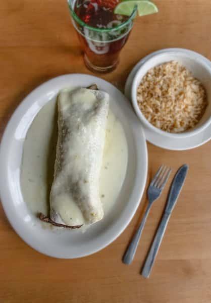 white burrito