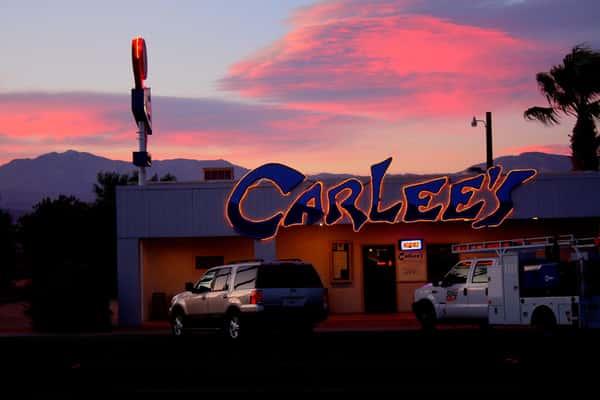 carlee's at sunset