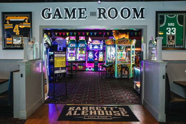 enterance to game room