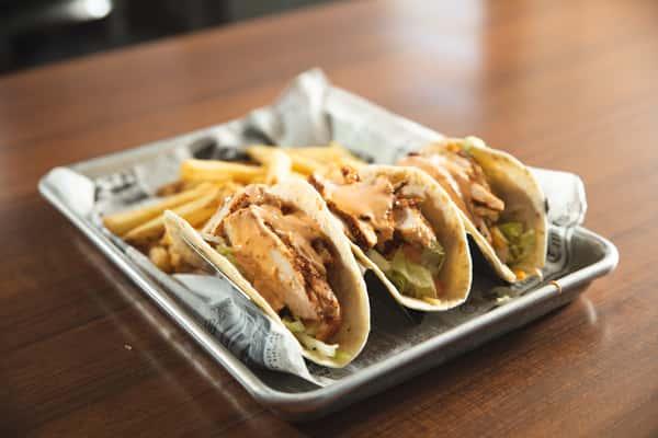 Blackened Chicken Tacos