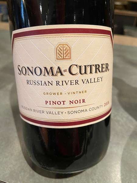"""2018 Sonoma County Pinot Noir """"Russian River Valley"""""""