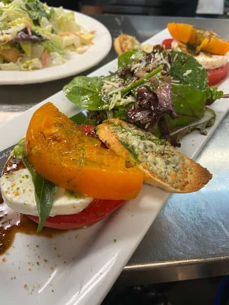 Half McD's Caprese Salad