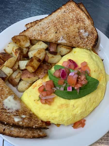 Hot Kiss Omelet