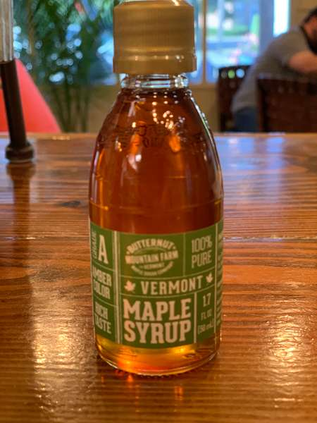 Real Vermont Maple Syrup