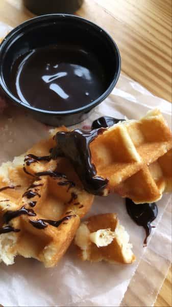 Pearl Sugar Belgian Waffles