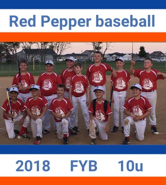 Fargo Red Pepper Youth Baseball Squad