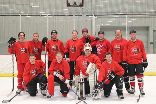 """The Red Pepper Hockey Club claims their 2nd Whitey Cup in 3 straight appearances in the """"ship"""". Can you say, dynasty?"""