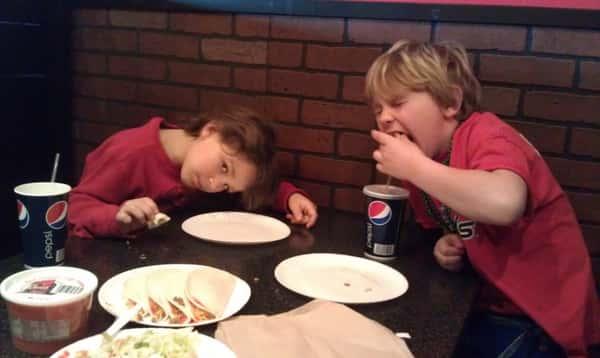 Tanner and Braden destoyin some Pepper in Fargo.