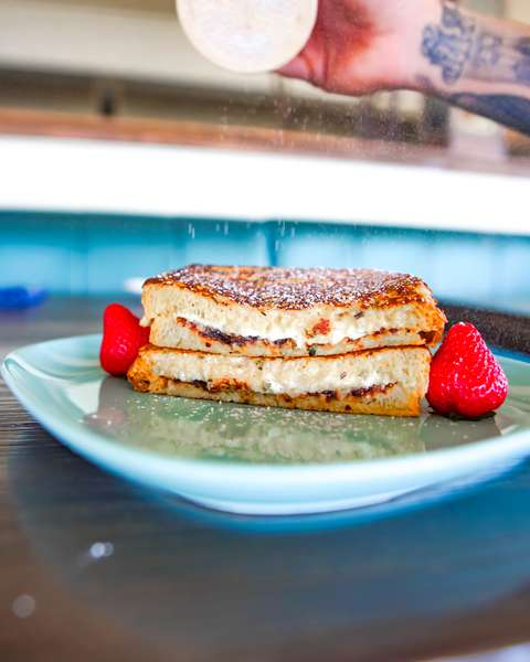 Goat Cheese French Toast