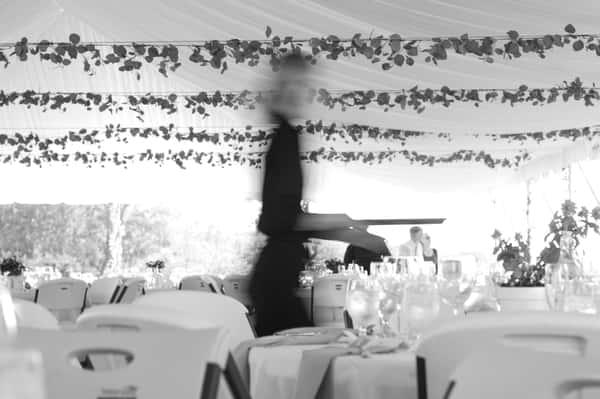 Server wedding