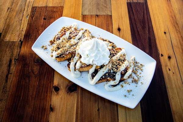 Banana Fosters French Toast