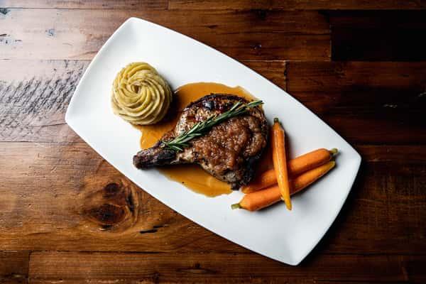 Grilled Pork Porterhouse