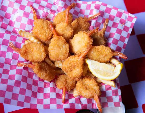 Deep Fries Shrimp Basket