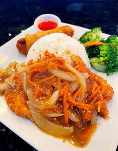 Curry Fried Chicken Cutlet 咖哩雞排
