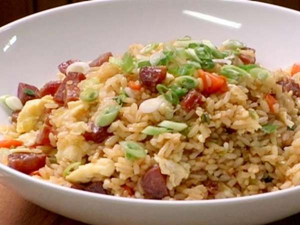 Taiwanese Sausage Fried Rice (台式香腸炒飯)