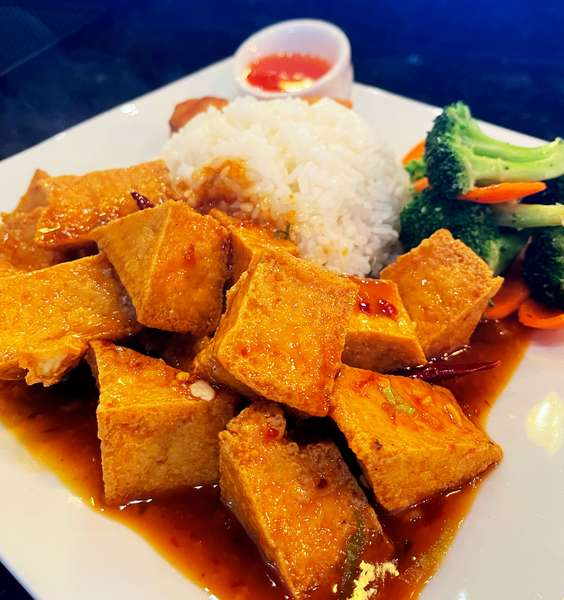 General Tso Tofu 左宗豆腐