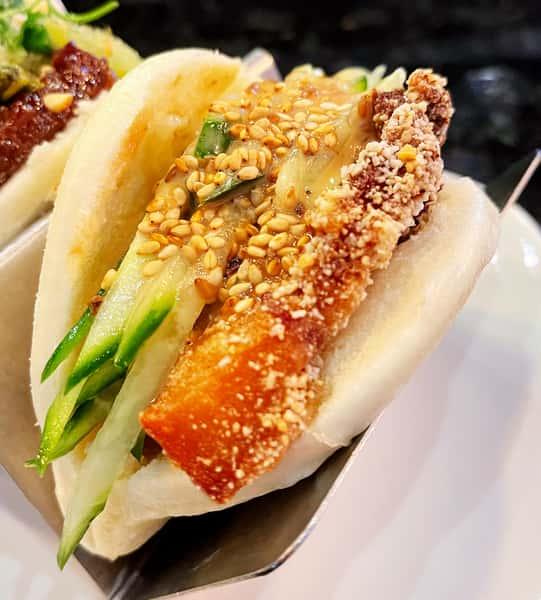 Fried Pork Belly 胡麻醬豬五花