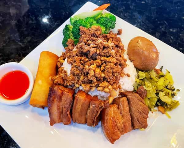 Braised Pork Belly 扣肉飯