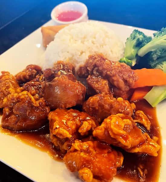 Orange Chicken 陳皮雞