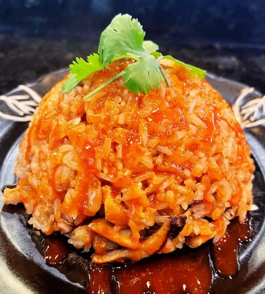 Taiwanese Sticky Rice 台式油飯