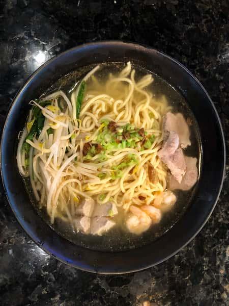 Taiwanese Noodle Soup 台式切仔麵