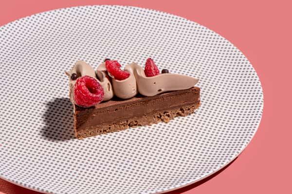 Chocolate Raspberry Slice