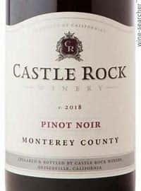 Castle Rock, Pinot Noir, Monterey