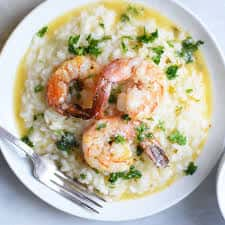 Surf and Turf Risotto