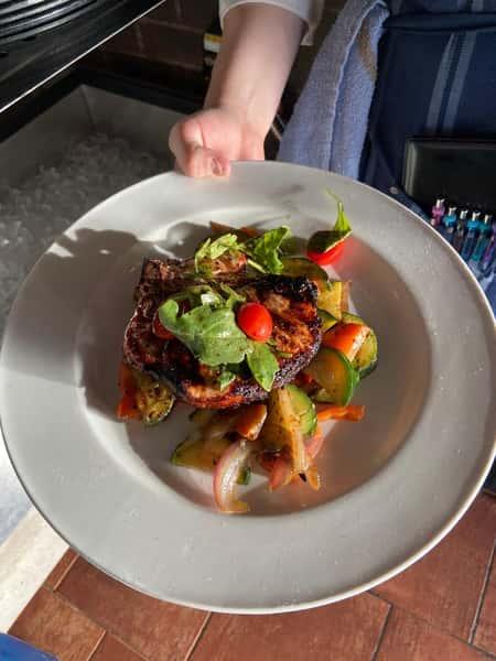 Tuscan Style Pork Chop