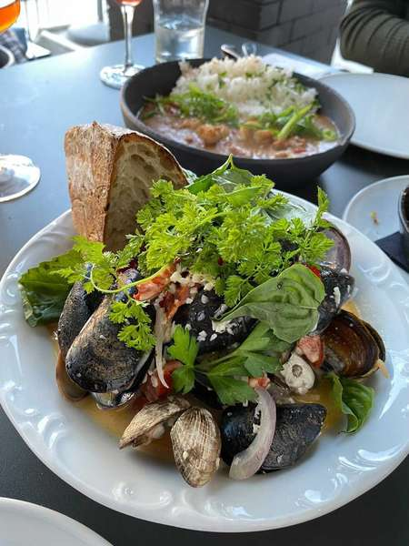 Steamed Clams and Mussel
