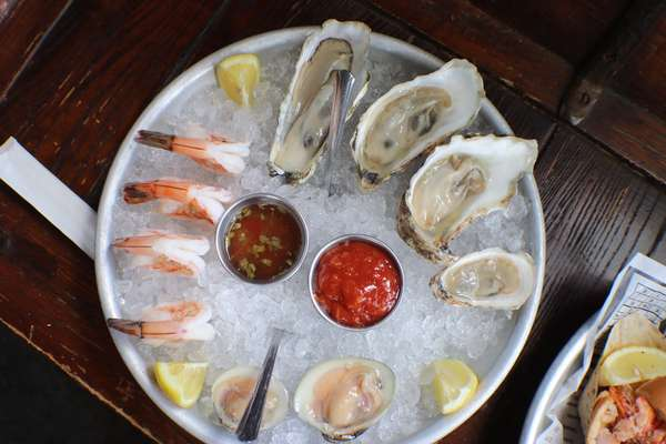 Raw Bar Sampler